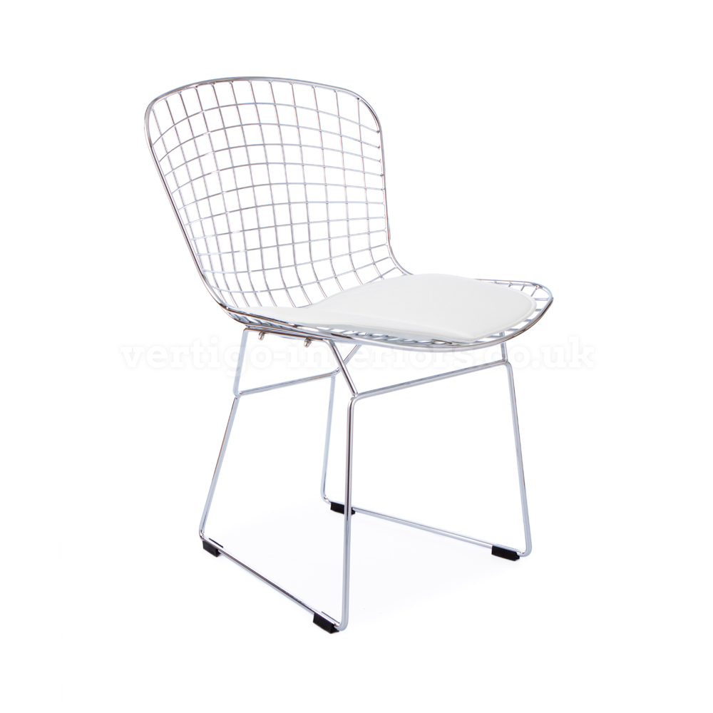 Bertoia Wire Side Chair Commercial Bertoia Wire Side Chair Dcg Stores Bertoia Wire Chair Back