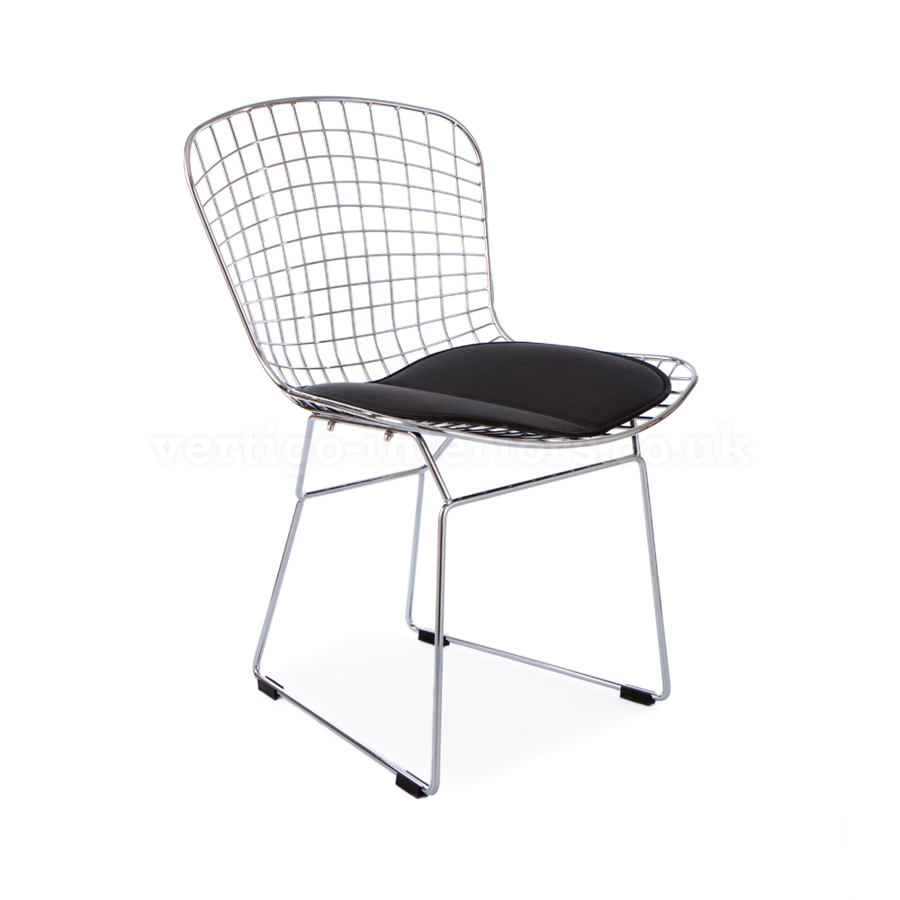 home dining dining side chairs bertoia wire side chair