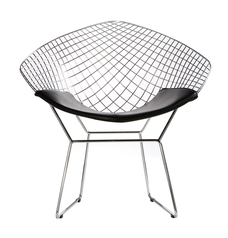 Bertoia Diamond Wire Chair The Natural Furniture Company Ltd : Bertoia diamond wire chair black seat pad 31 from thenaturalfurniturecompany.co.uk size 957 x 1000 jpeg 394kB