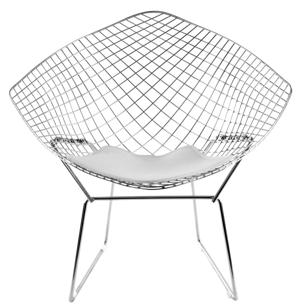 Bertoia diamond chair black - Bertoia Diamond Wire Chair