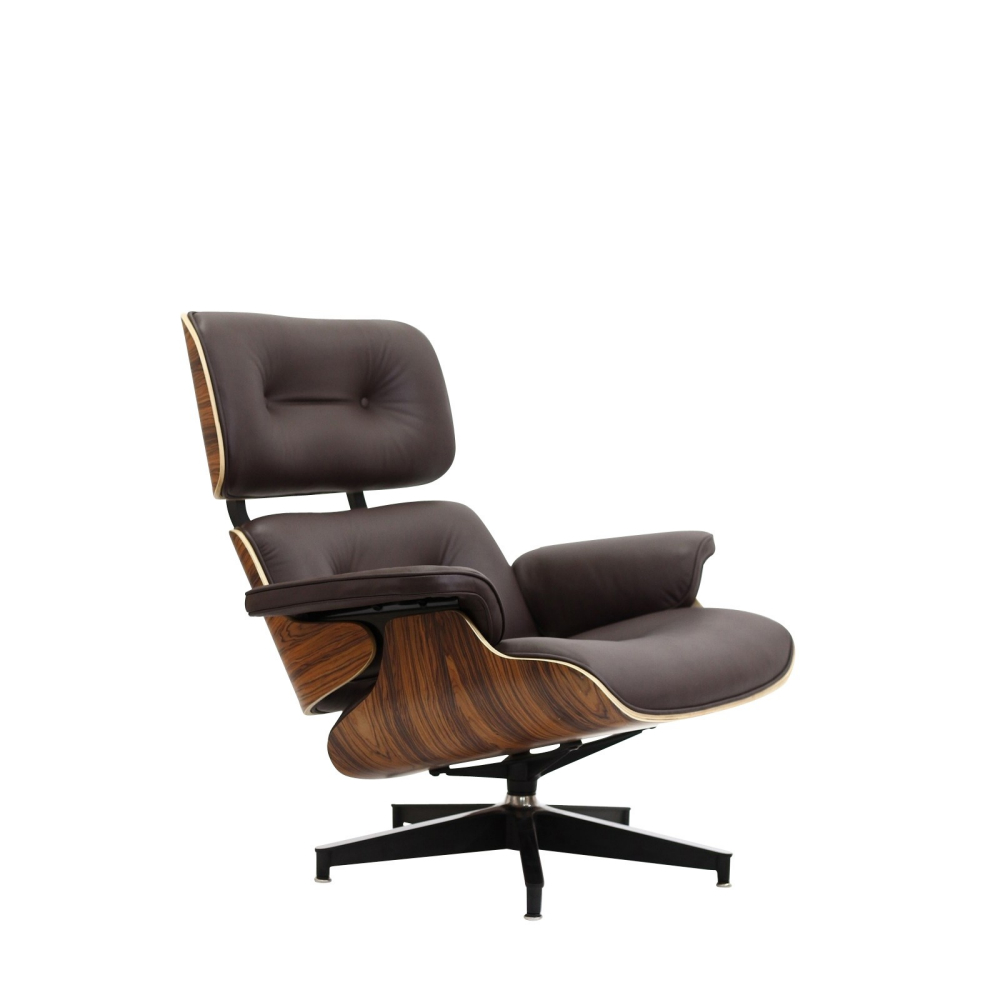 eames style lounge chair ottoman. Black Bedroom Furniture Sets. Home Design Ideas