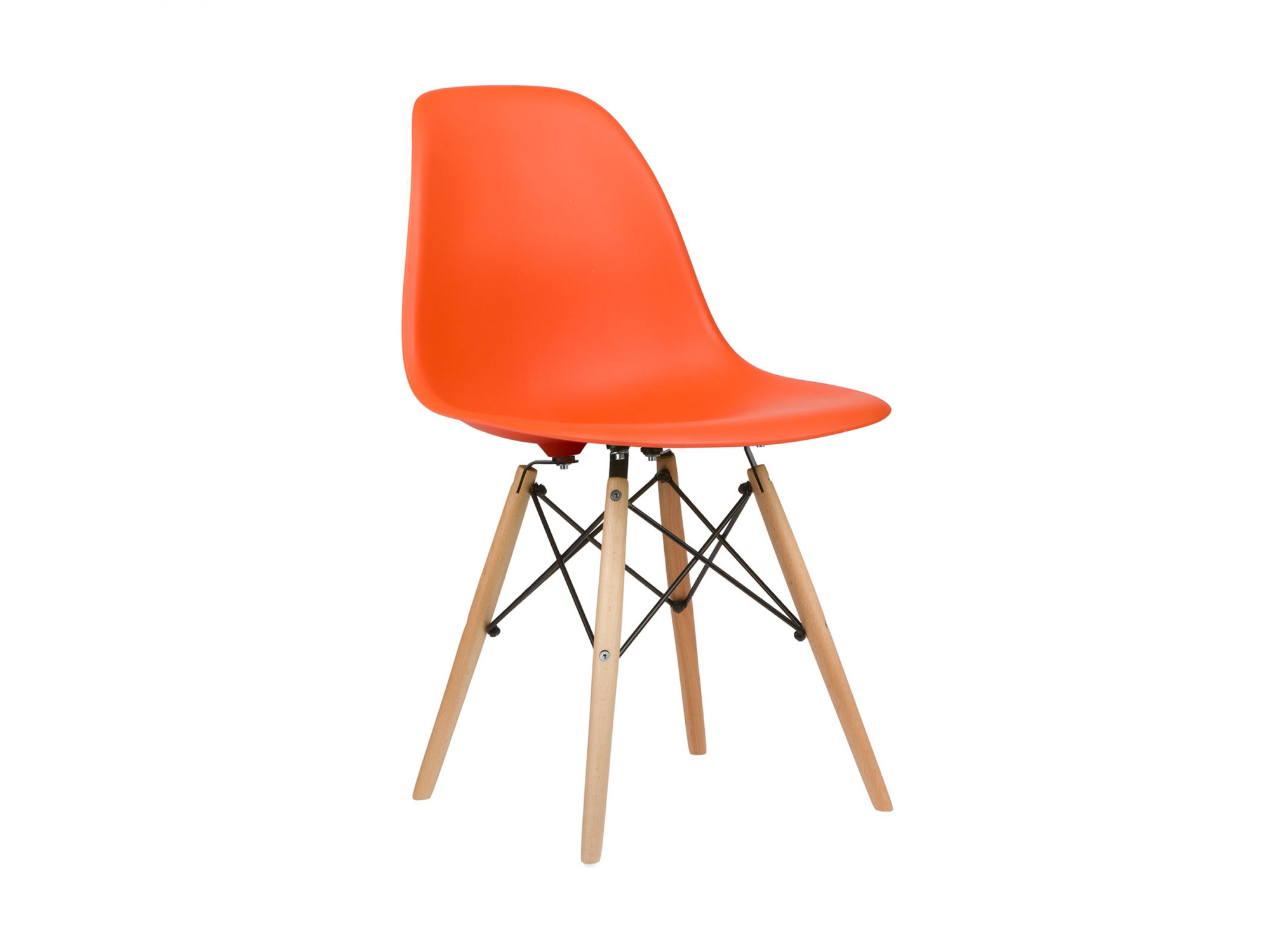 Eames style dsw dining side chair for Design eames