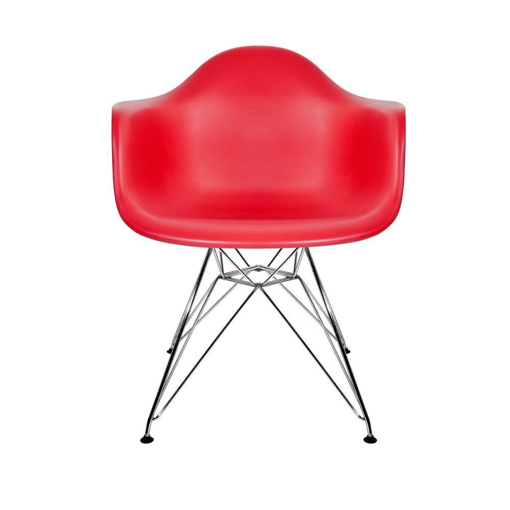 Eames Style DAR Chair The Natural Furniture Company Ltd : Eames Red DAR Chair1 from thenaturalfurniturecompany.co.uk size 1000 x 1000 jpeg 171kB