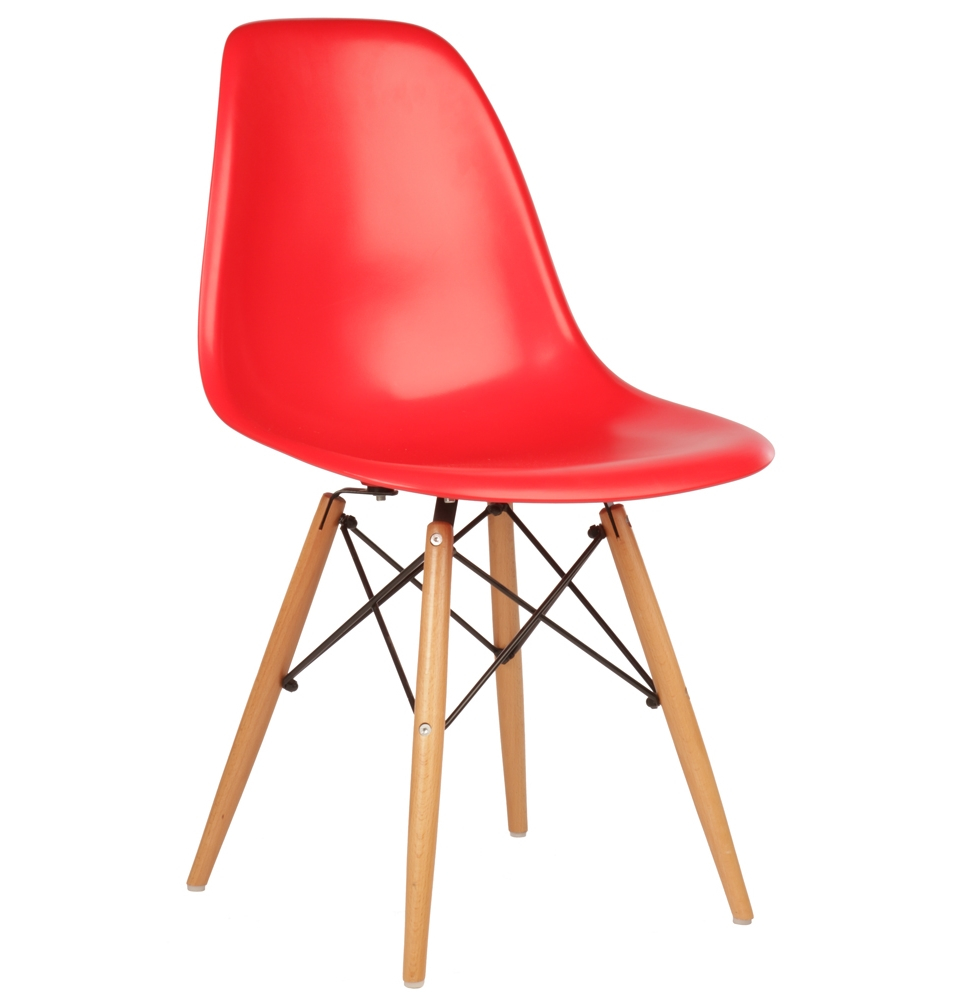 Eames style dsw dining side chair for Table eames dsw