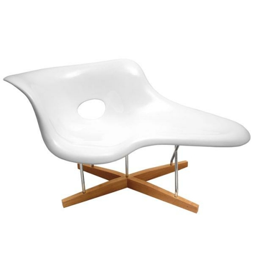 Eames style le chaise the natural furniture company ltd for Chaise a bascule style eames