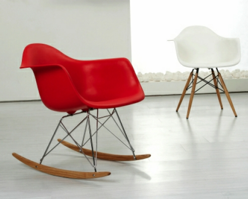 Eames Style Rocker Chair The Natural Furniture Company Ltd