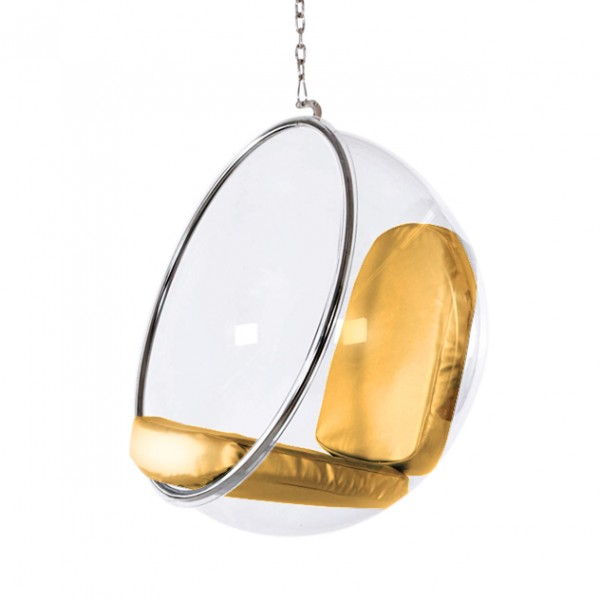 Hanging Bubble Chair The Natural Furniture Company Ltd : Hanging Bubble Chair Gold Cushion 600x600 from thenaturalfurniturecompany.co.uk size 600 x 600 jpeg 28kB