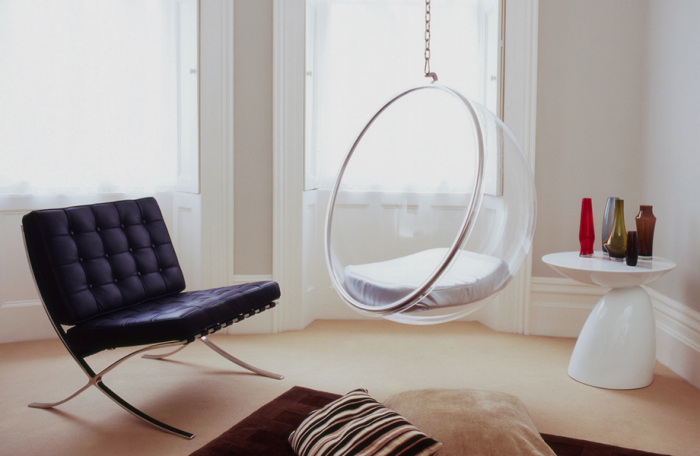 Hanging bubble chair the natural furniture company ltd - Fauteuil oeuf suspendu ikea ...
