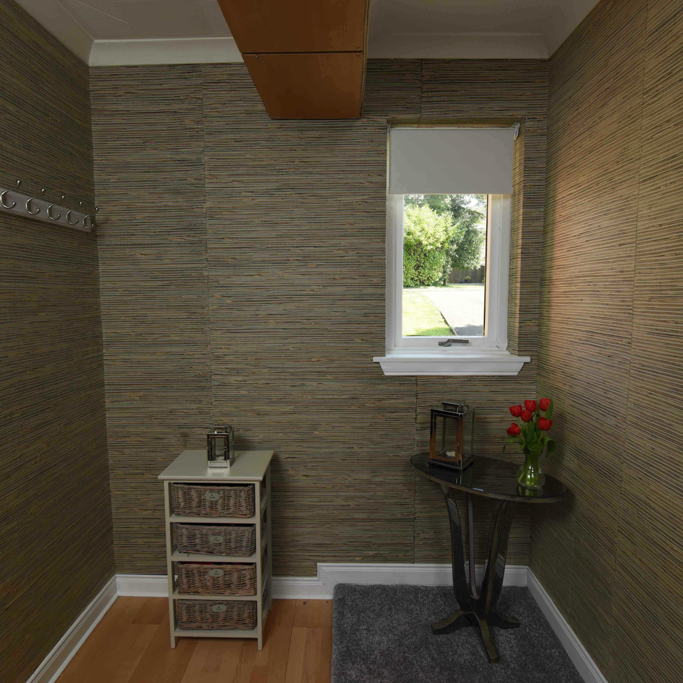 Rooms With Grasscloth Wallpaper: Harvest Gold Seagrass Natural Grasscloth Wallpaper