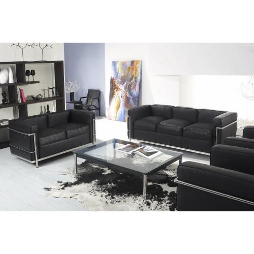 Le Corbusier Lc2 Petite 2 Seater Sofa