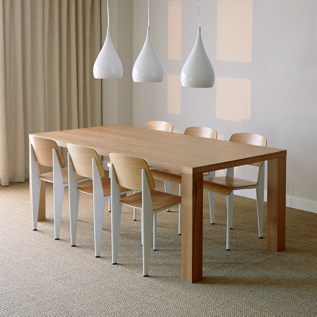 Moderno Ash Dining Table - The Natural Furniture Company Ltd