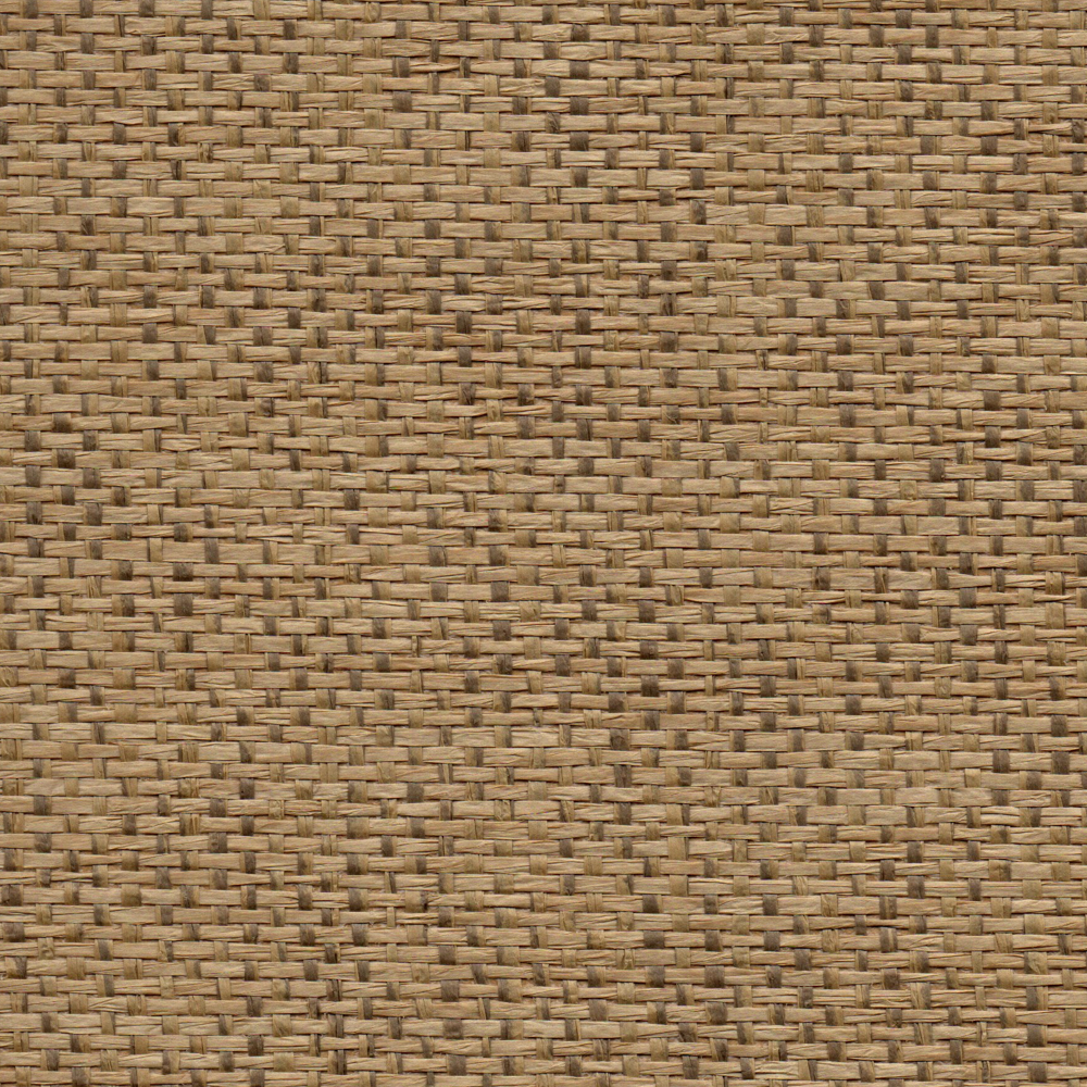 Light Brown Grass Cloth Wall Covering In This Transitional: Nutmeg Brown Grasscloth Wallcovering
