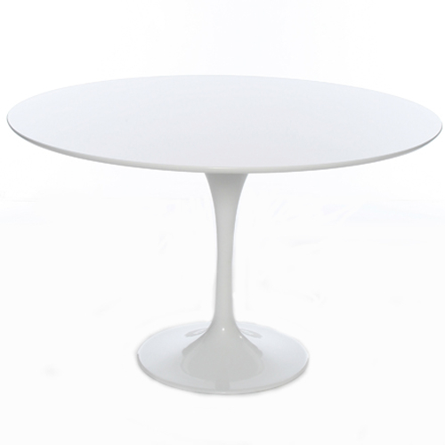 Charming Tulip Table 90 Cm White