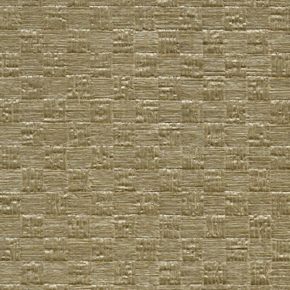 Grasscloth Walls: Woven Bronze Grasscloth Wallcovering