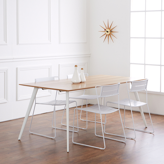 Scimitar Dining Table The Natural Furniture Company Ltd