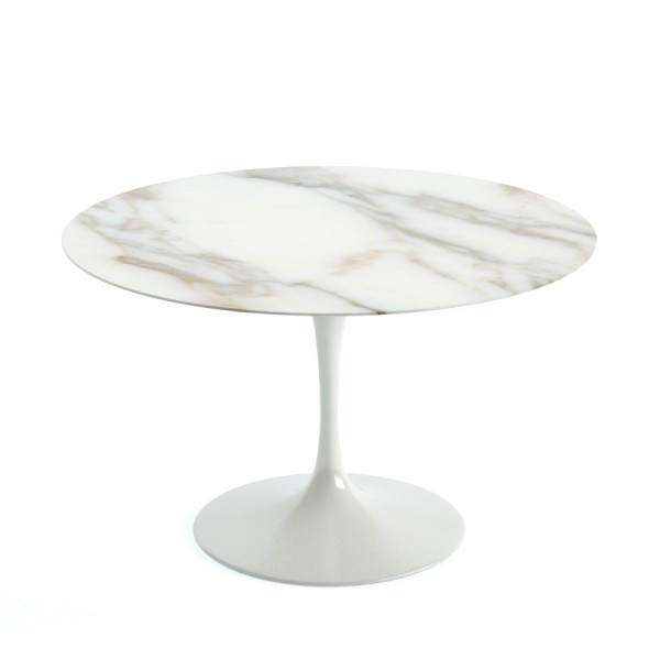 Tulip table marble 120cm the natural furniture company ltd for Table carrera