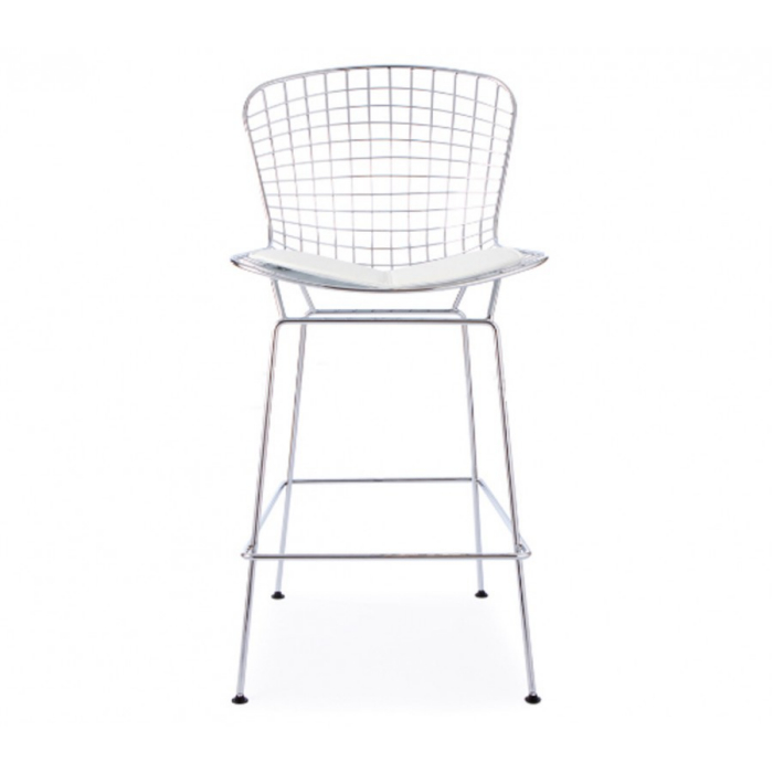 Home / DINING / Bar Stools & Stools / Bertoia Inspired Wire Bar Stool