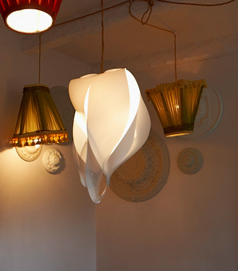 Flame Pendant Lampshade The Natural Furniture Company Ltd