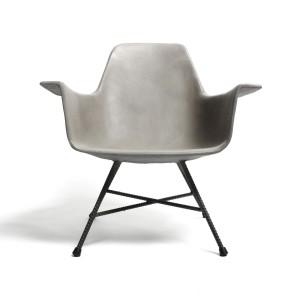 Hauteville Concrete Armchair 1