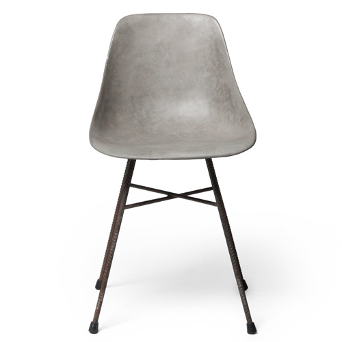 hauteville concrete dining chair lyon beton. Black Bedroom Furniture Sets. Home Design Ideas