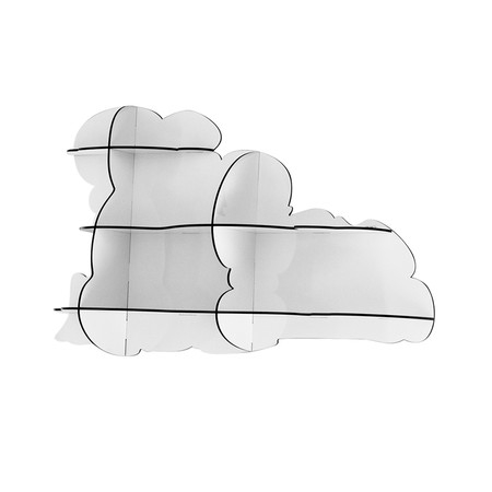 Ibride- Big Cloud Shelf – Nimbus White 1