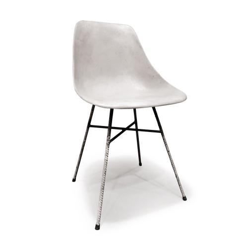 Lyon Beton Hauteville concrete chair 1