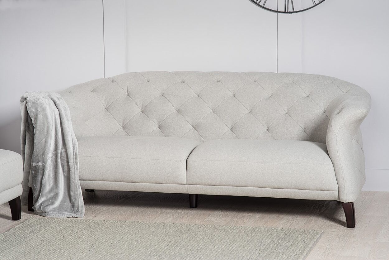 Contemporary Wood Sofa