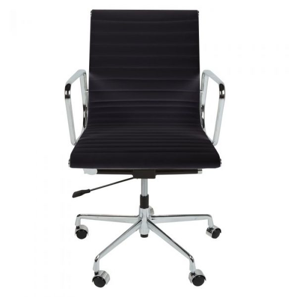 Eames Style EA117 Low Back Office Chair Black 1