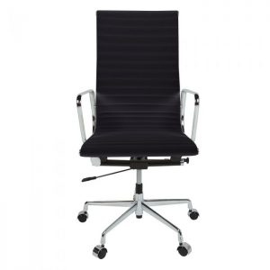 Eames Style EA119 Ribbed High Back Office Chair