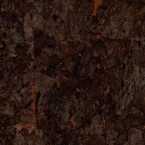 Espresso Glow Natural Cork Wall Covering