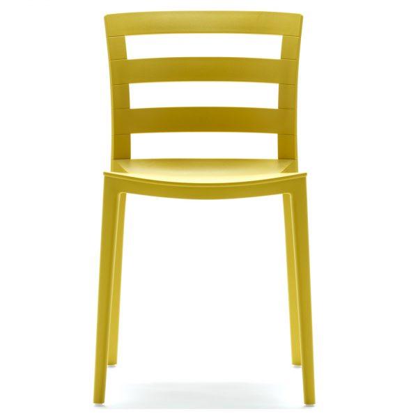 Town Side Chair -Ochre 3