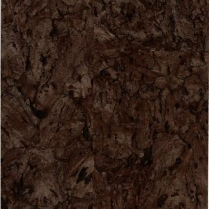 Espresso dark brown cork wall covering