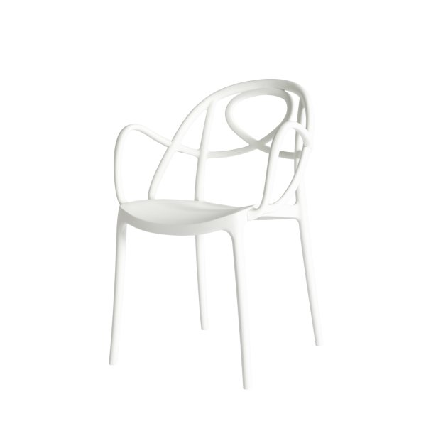 Etoile dining chair- White