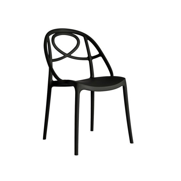 Etoile dining chair-Anthracite