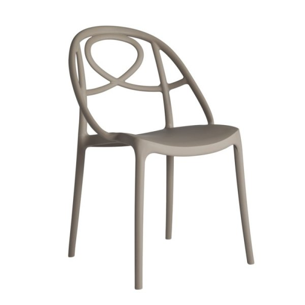 Etoile dining chair- Dove grey