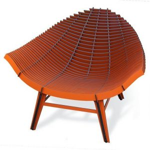 Ibride Manta Chair-Orange