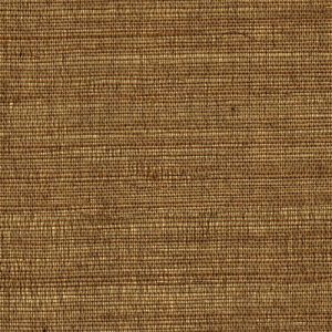 Sunset Gold Grasscloth Wallpaper