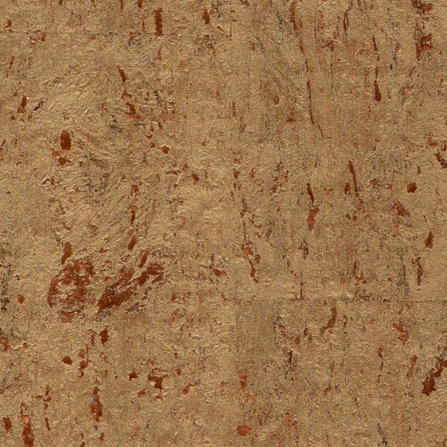 Orianna Natural Gold Cork Wallpaper