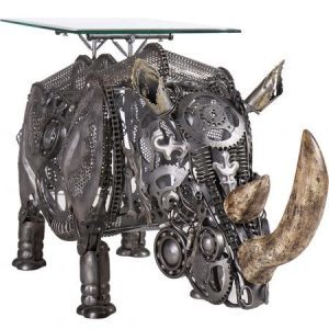 New Recycled Metal Sculptures