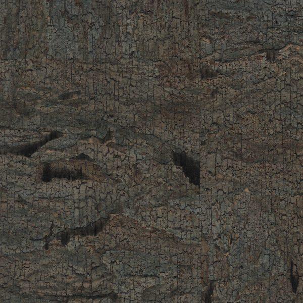 Aged Moss Cork Wallpaper