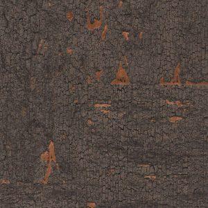 Bronzed Wood Cork Wallpaper