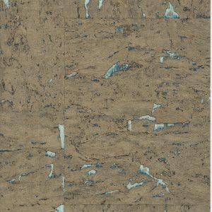 Aqua Marine Cork Wallpaper