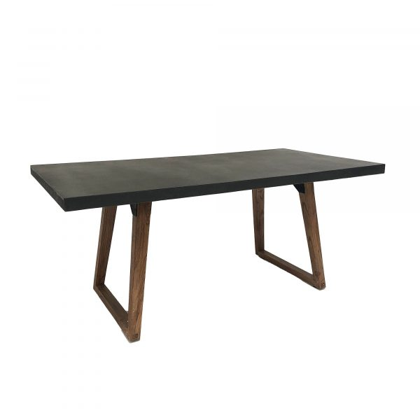 Urban Concrete Dining table side view