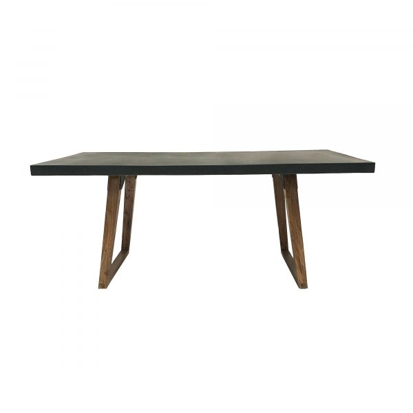 Urban Concrete Dining Table Side