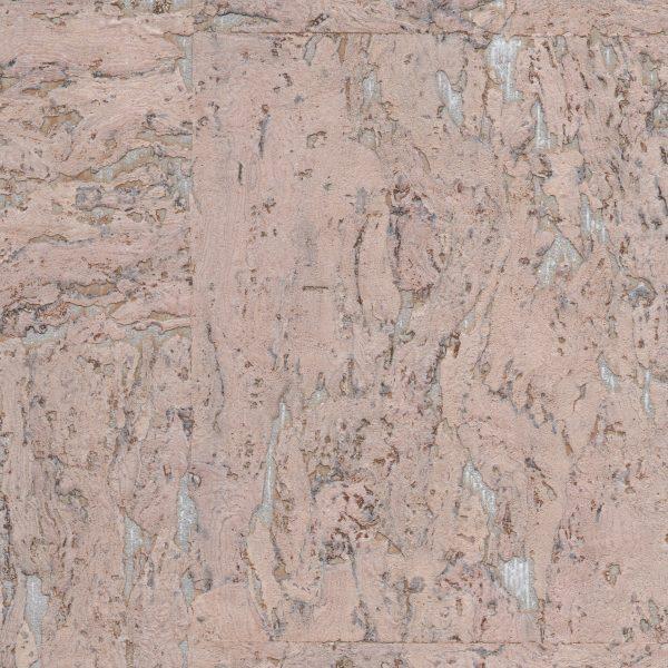 Blush Pink Cork Wallpaper