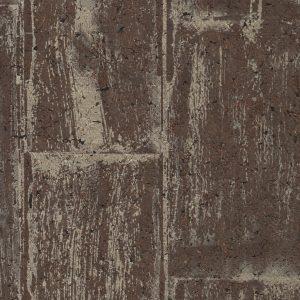 Distressed Caramel Cork wallpaper