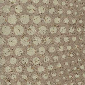 Golden Sphere Cork Wallpaper