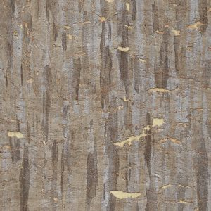 Pewter Forest Cork Wallpaper